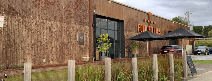 Four Pillars Distillery is one of Locais curtidos por Mike.