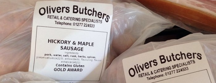 Olivers Butchers is one of Locais curtidos por Mike.