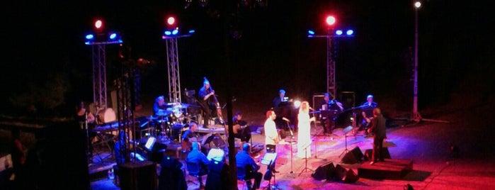 "Kardamyla Open Theatre ""Adamantios Lemos"" is one of Chios Island."