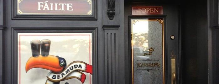 Flanagan's Irish Pub & Restaurant is one of Our Bermuda Honeymoon to do list.