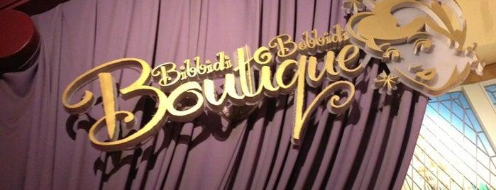 Bibbidi Bobbidi Boutique is one of Disney Springs.