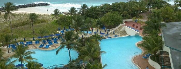 Hilton Barbados is one of Gespeicherte Orte von Ipek.