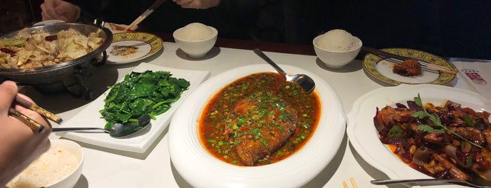 Guan Fu Szechuan 官府川菜 is one of New York.