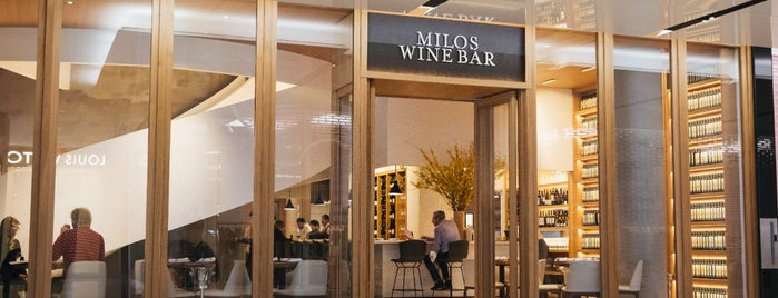 Milos Wine Bar is one of Bars and speakeasies.