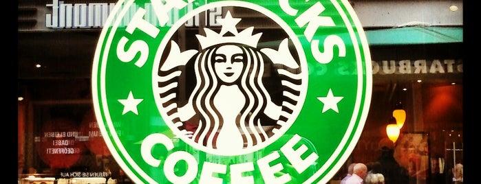 Starbucks is one of N.'ın Kaydettiği Mekanlar.