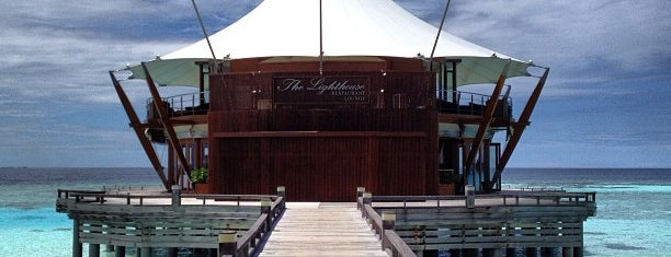 The Lighthouse Restaurant is one of Tempat yang Disukai Karina.