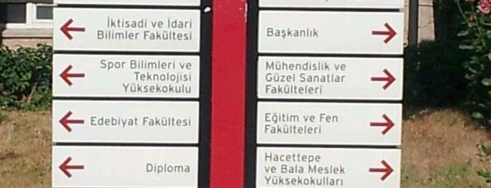 Hacettepe Üniversitesi Õğrenci işleri is one of Yunus'un Beğendiği Mekanlar.