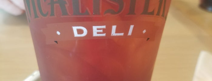 McAlister's Deli is one of Frisco Eats.