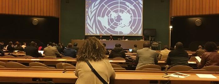 Salle XXI Bat E is one of United Nations Geneva.