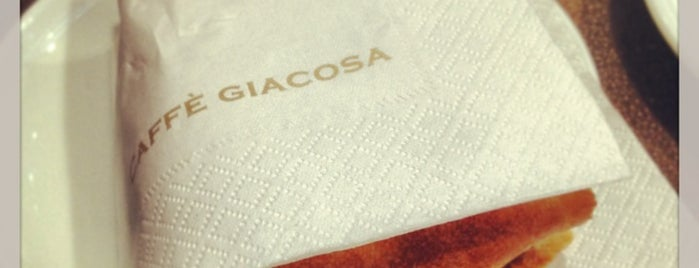 Caffè Giacosa is one of Lugares favoritos de Gabriel.