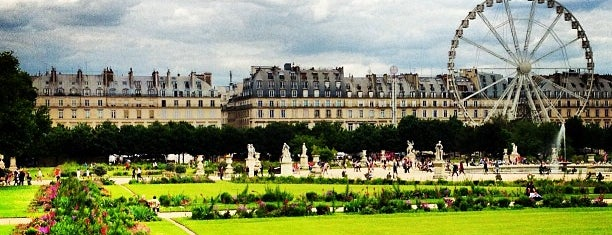 Jardin des Tuileries is one of Paris West Arrondissements.