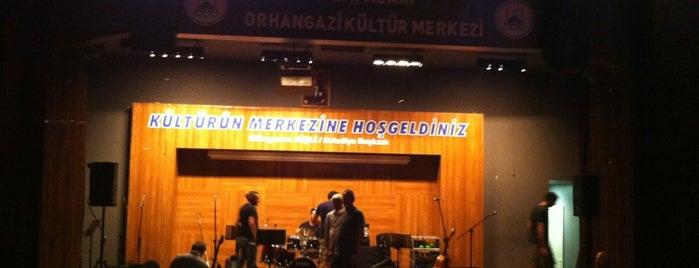 Orhangazi Kültür Merkezi is one of Barış'ın Beğendiği Mekanlar.