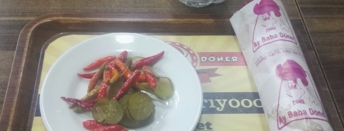 Ay Baba Döner Cafe Restaurant is one of Tempat yang Disukai Süleyman.