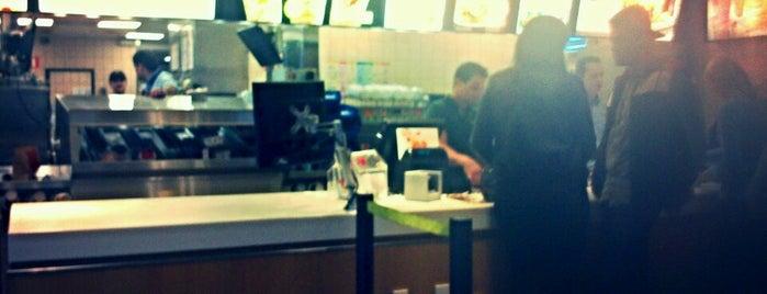 McDonald's is one of Lieux qui ont plu à Mario.
