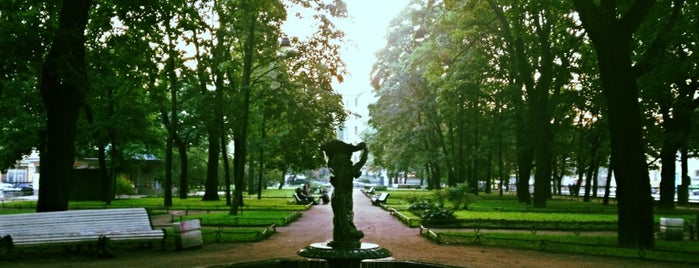 Введенский сад is one of Места для онлайн трансляций.