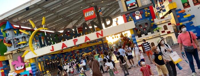 LEGOLAND Japan is one of + Nagoya.