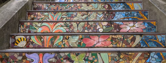 Hidden Garden Mosaic Steps is one of Cool spots.