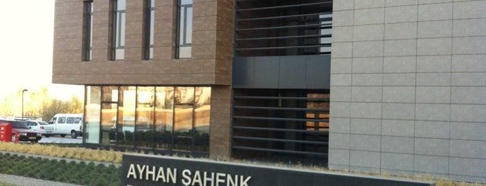 AYHAN ŞAHENK Tarım Bilimleri ve Teknolojileri Fakültesi is one of Türkiye Mimarlık Yıllığı 2013.