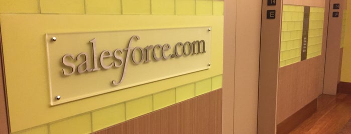 Salesforce.com is one of Mark 님이 좋아한 장소.