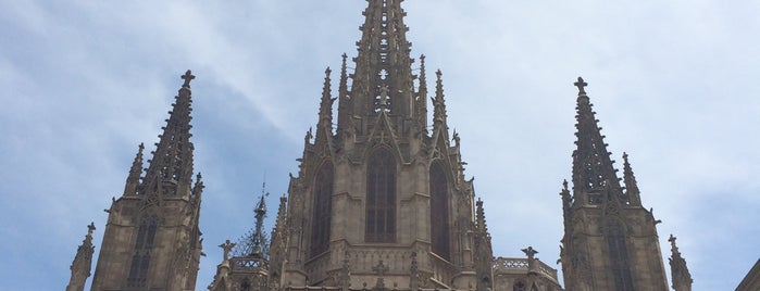 Bar Catedral Terrace Lounge is one of Mejores Terrazas en Barcelona.