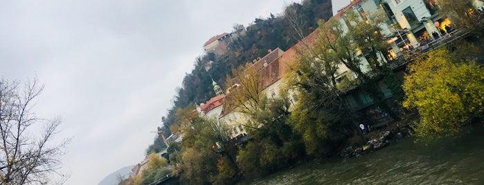 Mur-Promenade is one of Graz.