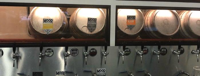 Moor Beer Company Vaults is one of London's Best for Beer.