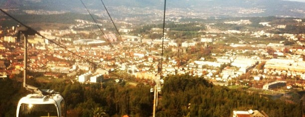 Teleférico de Guimarães is one of 4sq Cities! (Europe).