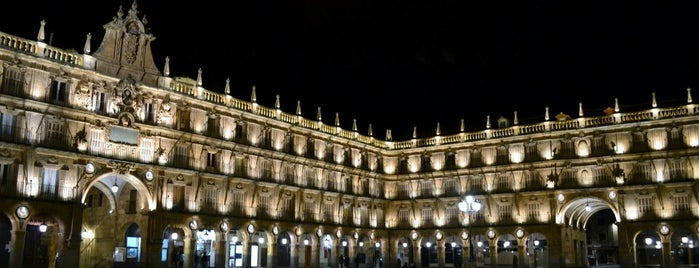 Plaza Mayor is one of Madrid.
