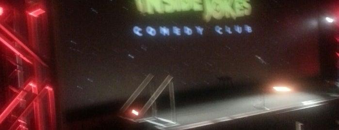 Inside Jokes Comedy Club is one of Robert'in Beğendiği Mekanlar.