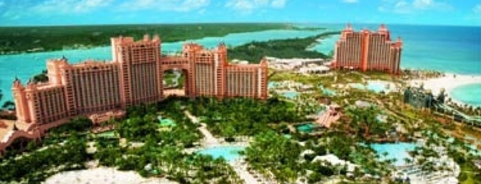 Atlantis Paradise Island is one of Lieux sauvegardés par Queen.