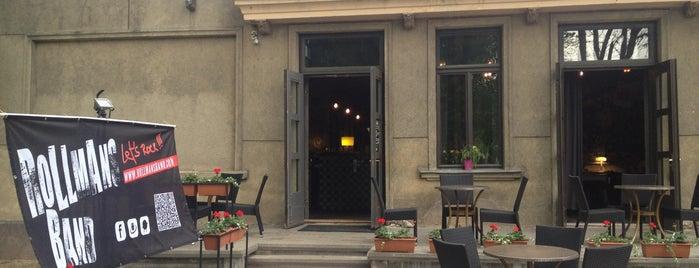 Džeza klubs-restorāns Parks is one of Restorāni,bāri,klubi LV.