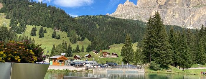 Canazei skiresort is one of Dolomiti.