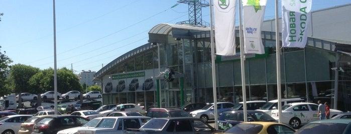 АвтоСпецЦентр Химки — Официальный дилер Skoda is one of Lugares favoritos de АвтоСпецЦентр.