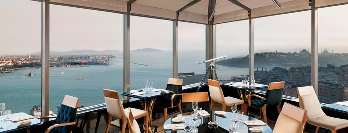 City Lights Restaurant & Bar InterContinental Istanbul is one of Turk.