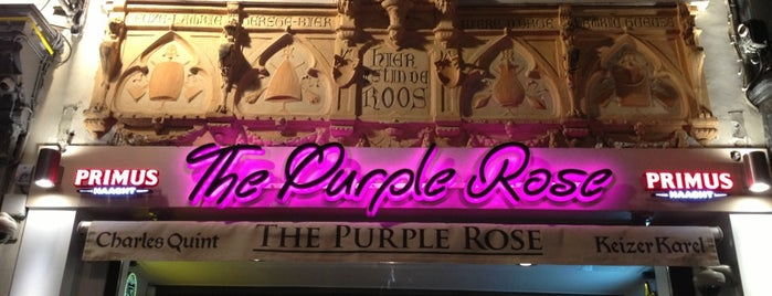 The Purple Rose is one of Nederlands in Brussel.