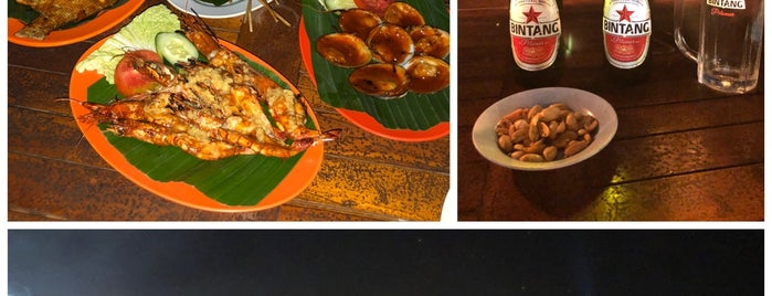 """Made Bagus Cafe """"Special Grilled Seafood"""" is one of Bali."""