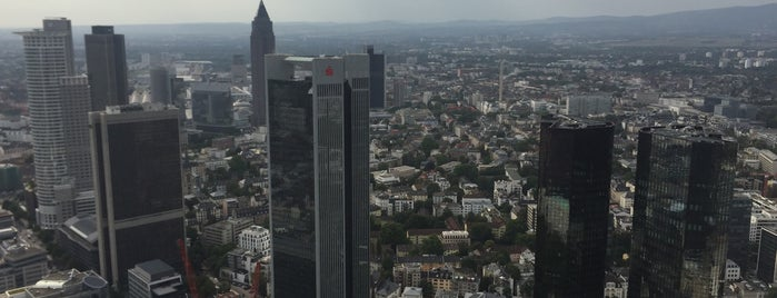 Main Tower is one of Frankfurt.