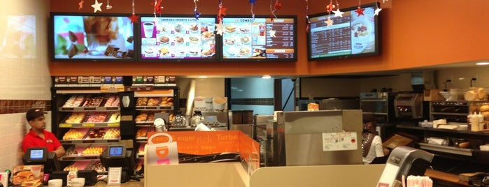 Dunkin' is one of NEW YORK.