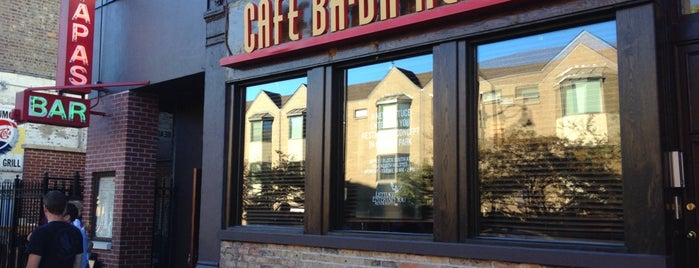 Café Ba-Ba-Reeba! is one of Chicago Casual Food 🥘🍝🌮.