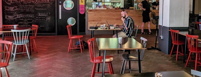 The Pill Box Kitchen is one of Cafe and Coffee.