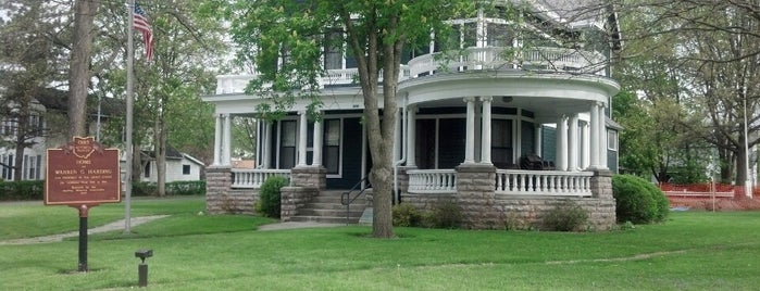 Warren G Harding House Museum is one of CBS Sunday Morning 2.