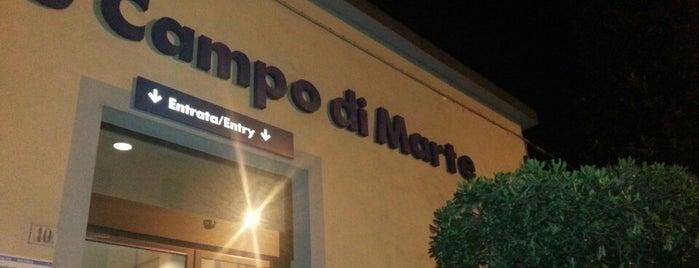 Stazione Firenze Campo di Marte is one of Viaggio in Italia 2019 - Firenze.