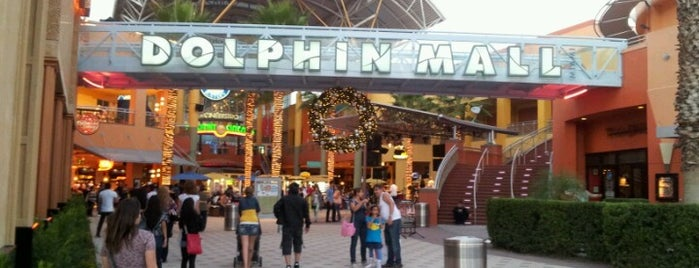 Dolphin Mall is one of Miami.