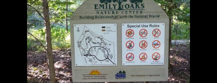 Emily Oaks Nature Center is one of Kiddos.