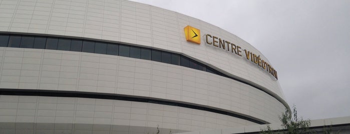 Centre Vidéotron is one of Locais curtidos por David.
