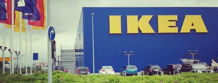 IKEA is one of Orte, die Cristi gefallen.