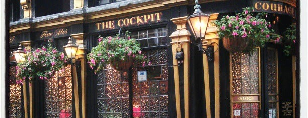 The Cockpit is one of London's Best Pubs (voted by Londonist readers).