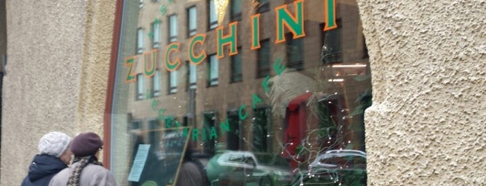 Zucchini is one of Vegan & vegan-friendly Helsinki.