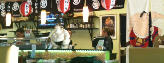 Sumo Sushi is one of Dollyさんのお気に入りスポット.