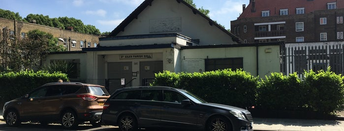 St Giles Parish Hall is one of Nick's Liked Places.